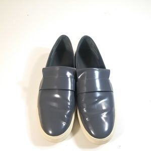 Vince Women Gray Slip On Loafers Size 11 M EUR 41